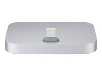 Apple iPhone Lightning Dock - Station d'accueil - gris - pour iPhone 5, 5c, 5s, 6, 6 Plus, 6s, 6s Plus, SE; iPod touch (5G, 6G) ML8H2ZM/A